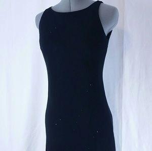 Jones New York Dress Black w/ Gems
